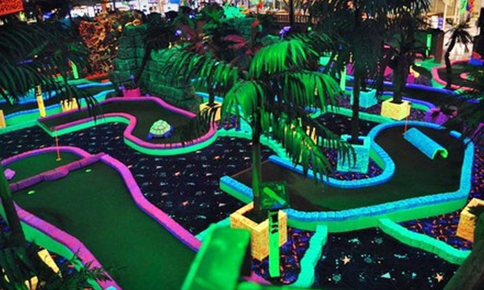 Safari Sam's - Sherwood: Jungle Gym, Bouncer, and Mini Golf for One or Two at Safari Sam's (Up to 53% Off)