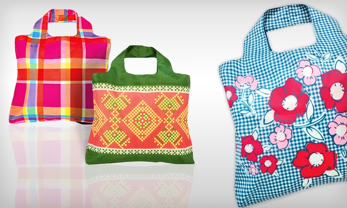 Envirosax Designer Reusable Bags: $18 for Four Envirosax Designer Reusable Bags ($35.80 List Price). 6 Options Available. Free Shipping and Returns.