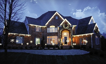 90 ft. of Holiday-Lights Hanging for a One-Story Home (up to a $390 value) - Ozark Outdoor Services in