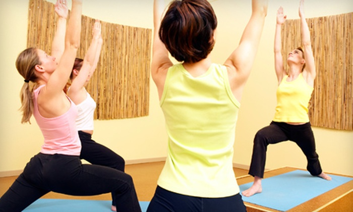 YogaRoom - City Center: $20 for One-Month Unlimited Yoga Pass at YogaRoom ($100 Value)