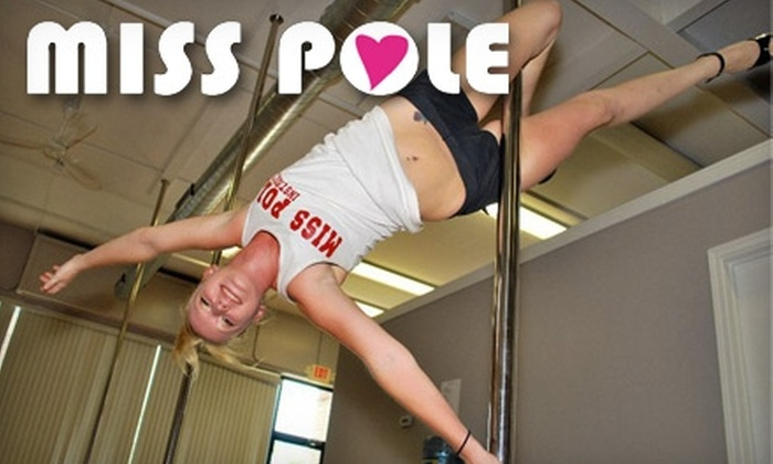 Miss Pole - Multiple Locations: $15 for One Intro Pole Tease Workshop at Miss Pole ($30 Value)