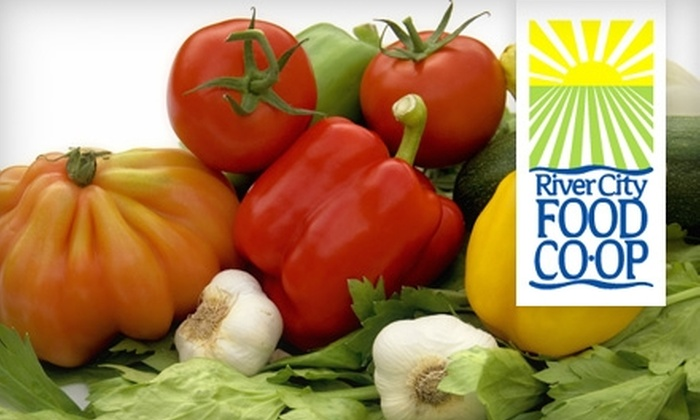 River City Food Co-op - Goosetown: $10 for $20 Worth of Organic Groceries at River City Food Co-op