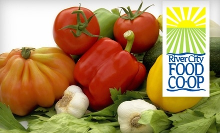 $20 Groupon to River City Food Co-op - River City Food Co-op in Evansville