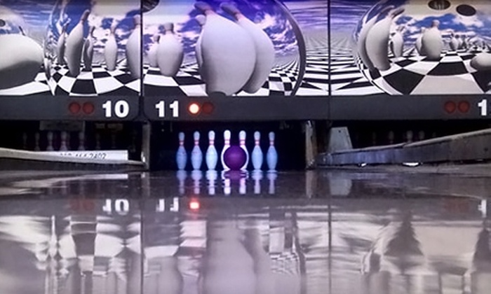 CJ's Willow Bowling Center - Garvinwood: Bowling at CJ's Willow Bowling Center. Two Options Available.