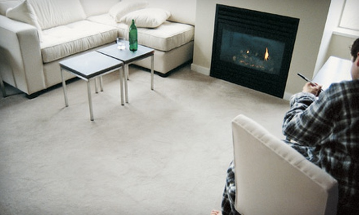 Chicagoland Carpet Cleaners - Multiple Locations: $65 for Professional Carpet or Upholstery Cleaning from Chicagoland Carpet Cleaners (Up to $149 Value)