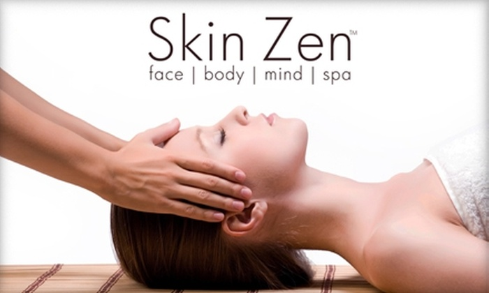 Skin Zen Spa - Austin: $62 for Customized Facial and 70-Minute Swedish Massage at Skin Zen Spa ($124 Value)