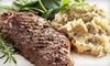 Metric Bar and Grill - Downtown: $29 for Classic Cuisine for Two at Metric Bar and Grill in Bridgeport (Up to $64.85 Value)