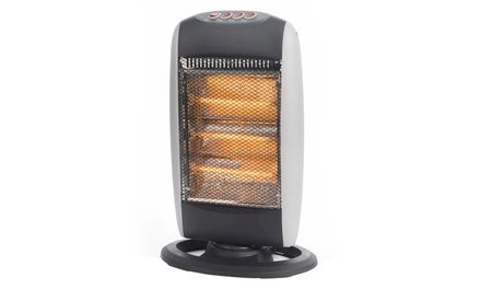 Prolectrix 1200W Halogen Heater with Three Heat Settings