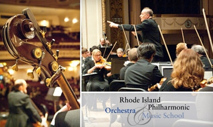 Rhode Island Philharmonic Orchestra - Multiple Locations: $38 for a Ticket to Two Rush Hour Concerts by the Rhode Island Philharmonic Orchestra ($76 Value). Six Options Available.