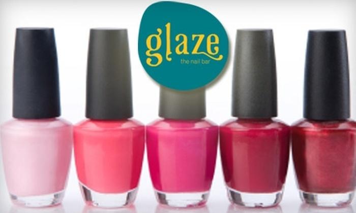 Glaze - Sand Lake: $29 for a Signature Mani-Pedi at Glaze