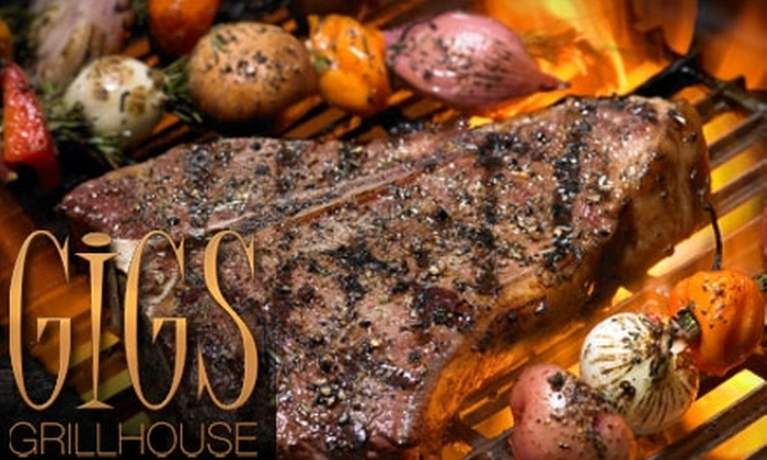 Gigs Grillhouse - Central London: $10 for $25 Worth of Casual Dining at Gigs Grillhouse