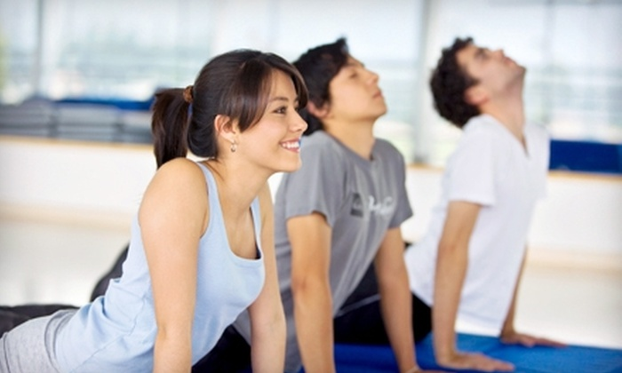 Floga Fitness Classes - Multiple Locations: 10 or 20 Yoga, Boot-Camp, or Fitness Classes at Floga Fitness Classes in Waltham (Up to 73% Off)