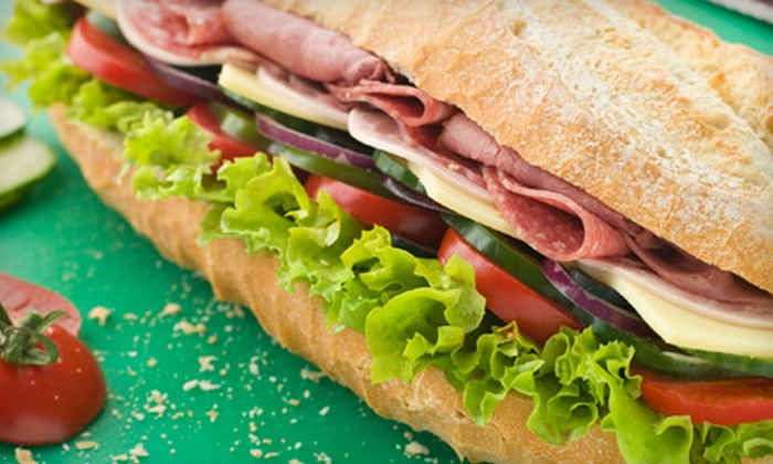 Triangle Bar & Grille - Swissvale: $15 for $30 Worth of Gourmet Sandwiches at Triangle Bar & Grille in Swissvale
