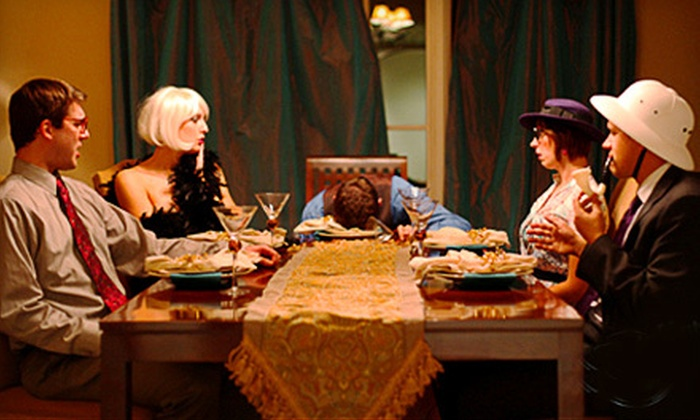The Murder Mystery Company - Candela's Taco Lounge and Bar: Murder-Mystery Dinner Show for One or Two from The Murder Mystery Company (Up to 54% Off)