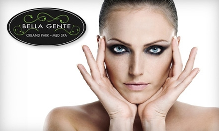 Bella Gente Medical Spa - Orland Park: $150 for Six Laser Hair-Removal Sessions (Up to $1,400 Value) or $59 for a Microdermabrasion Facial ($120 Value) at Bella Gente Medical Spa in Orland Park