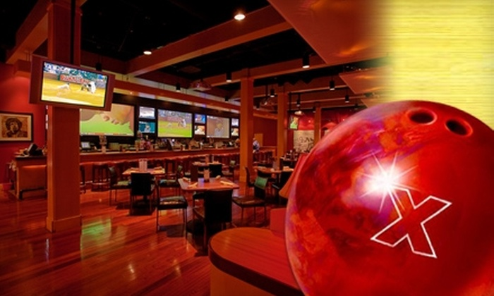 Lucky Strike Lanes Belmar - South Alameda: $40 for Two Hours of Bowling, Shoe Rental, and a Pitcher of Beer or Soda at Lucky Strike Lanes Belmar in Lakewood (Up to $105 Value)