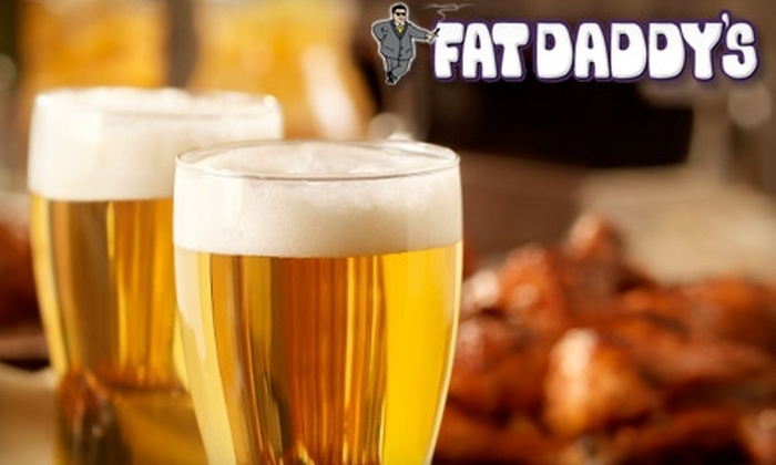 Fat Daddy's Sports & Spirits Cafe - Mansfield: $11 for $22 Worth of Steaks, Burgers, and More at Fat Daddy's Sports & Spirits Cafe in Mansfield