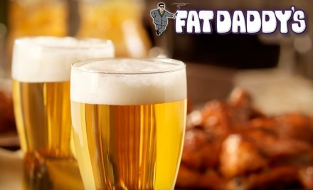 $22 Groupon to Fat Daddy's Sports & Spirits Cafe - Fat Daddy's Sports & Spirits Cafe in Mansfield
