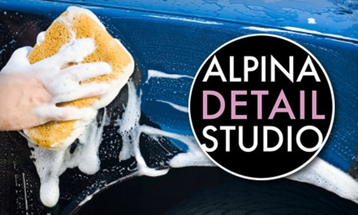 Alpina Detail Studio - Salt Lake City: $20 for an At-Home Car Wash from Alpina Detail Studio (Up to $50 Value)