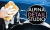Alpina Detail Studio LLC: $20 for an At-Home Car Wash from Alpina Detail Studio (Up to $50 Value)