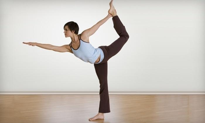 Harmony Yoga and Fitness of Whitestone - Whitestone: $49 for One Month of Unlimited Yoga, Zumba, Boot Camp, and Pilates Classes at Harmony Yoga and Fitness of Whitestone