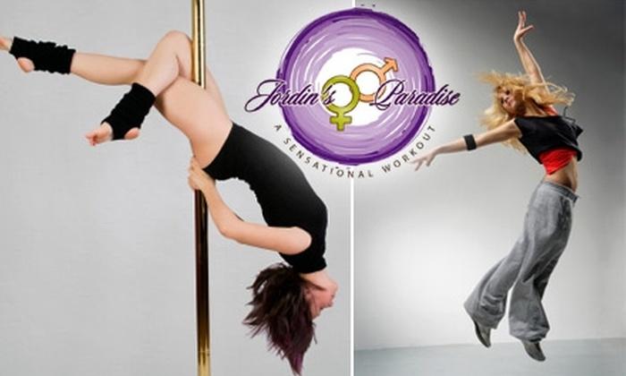 Jordin's Paradise - Washington DC: $35 for Three Dance and Fitness Classes at Jordin's Paradise