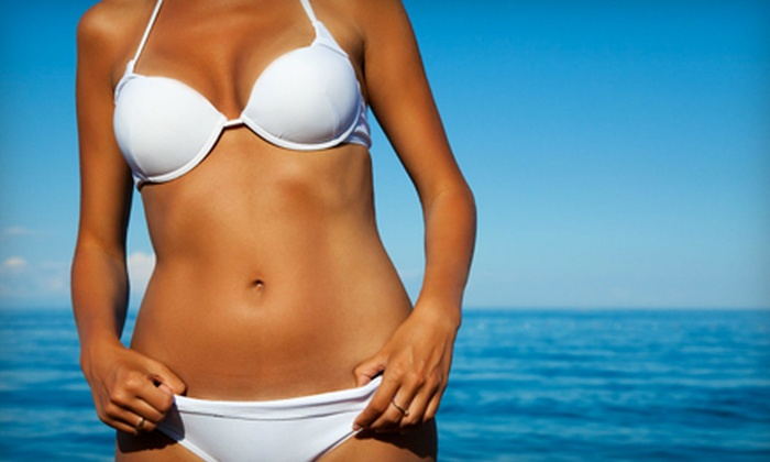Perfect Tan - Smithfield: Spray Tans or Body-Rejuvenation Treatments at Perfect Tan in Smithfield (Up to 68% Off). Four Options Available.