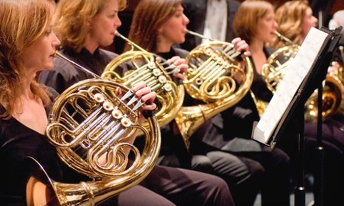 Greenville Symphony Orchestra - Downtown: $19 for One Ticket to the Greenville Symphony Orchestra's Grand Finale Concert on May 1 (Up to $49 Value)