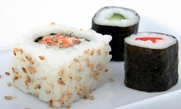 Mt. Fuji Japanese Restaurant - Little Rock: $10 for $20 of Sushi and Japanese Cuisine for Dinner or $5 for $10 for Lunch at Mt. Fuji Restaurant