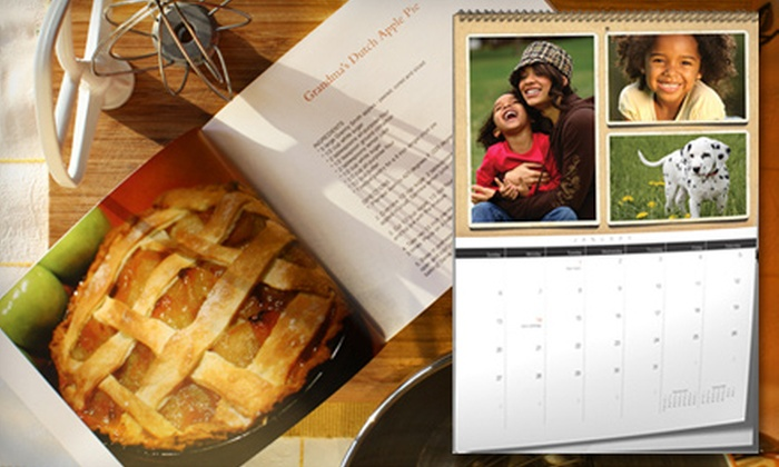 """Lulu.com: $10 for a 9""""x7"""" Hardcover Photo Book or a 12-Month Premium Calendar from Lulu.com (Up to $24.95 Value)"""