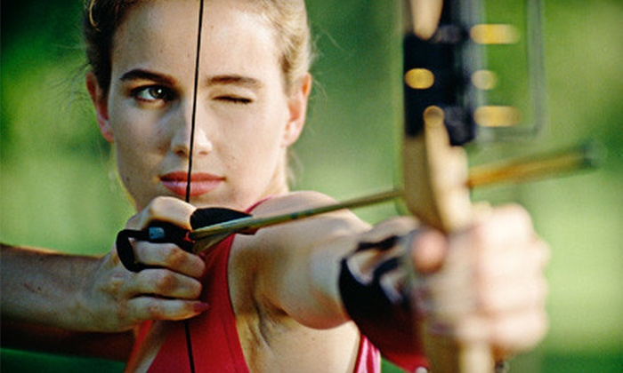 Trader Jan's Archery Pro-Shop - Niagara: Archery Session with Gear for Two, Four, or Six at Trader Jan's Archery Pro-Shop in Fall River (Up to 56% Off)