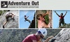 Adventure Out - Multiple Locations: Four-Hour Intro to Rock Climbing Course and Guided Outdoor Climb with Adventure Out