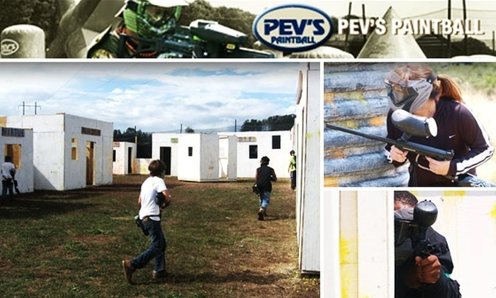 Pevs Paintball - Blue Ridge: $27 All-Day Pass to Pev's Paintball ($54 Value)