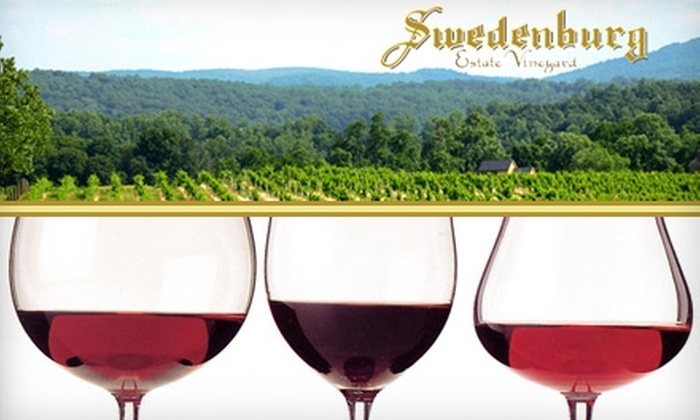 Swedenburg Estate Vineyard - Blue Ridge: $15 for a Wine Tasting for Two and a $30 Tasting-Room Credit at Swedenburg Estate Vineyard
