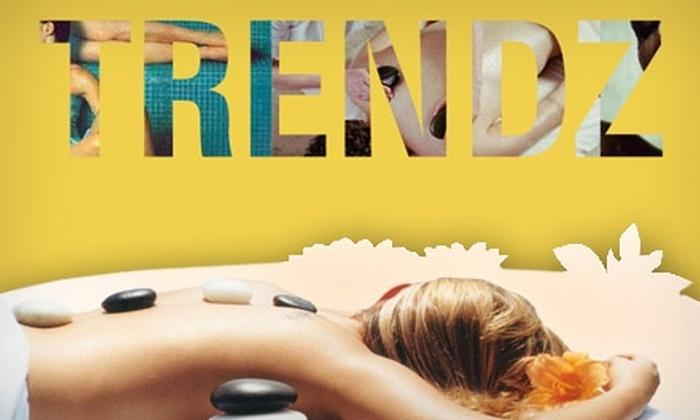 Trendz Rejuvenation Spa - Silver Spring: $50 for $120 Toward Facials, Massage, or Nail Care at Trendz Rejuvenation Spa