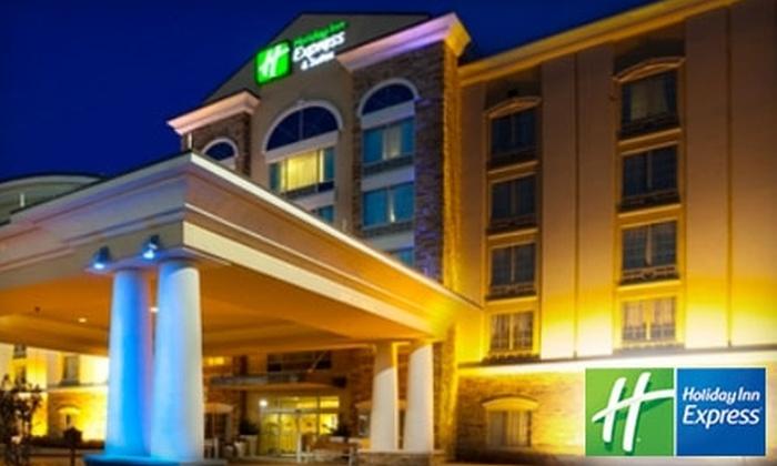 Holiday Inn Express Columbus at Northlake - Columbus GA: One-Night Stay at Holiday Inn Express Columbus at Northlake. Choose Between Two Options.