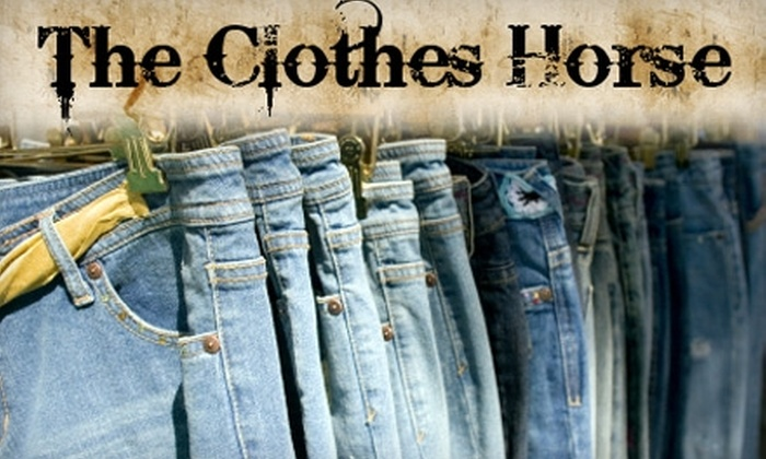 The Clothes Horse - Rancho Bernardo: $25 for $55 Worth of Clothing and Accessories at The Clothes Horse
