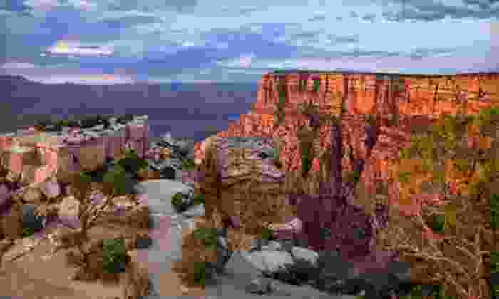 Quality Tours of Las Vegas - The Strip: All-Day Grand Canyon Sightseeing Tour for One, Two, or Four from Quality Tours of Las Vegas (Up to 62% Off)