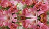 Fruits and Flowers - Bridgeport: $25 for $50 Worth of Floral Arrangements and Gourmet Baskets at Fruits & Flowers in Bridgeport