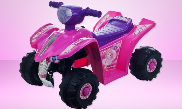 Lil' Rider Mini 4-Wheeler: Lil' Rider Pink Princess Mini Quad Ride-On 4-Wheeler. Free Shipping and Returns.