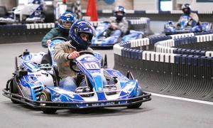 Ralf Schumacher Kart & Bowl: 3 Einzelfahrten à 10 Minuten inklusive Leih-Helm auf der Kartbahn von Ralf Schumacher Kart & Bowl (35% sparen*)