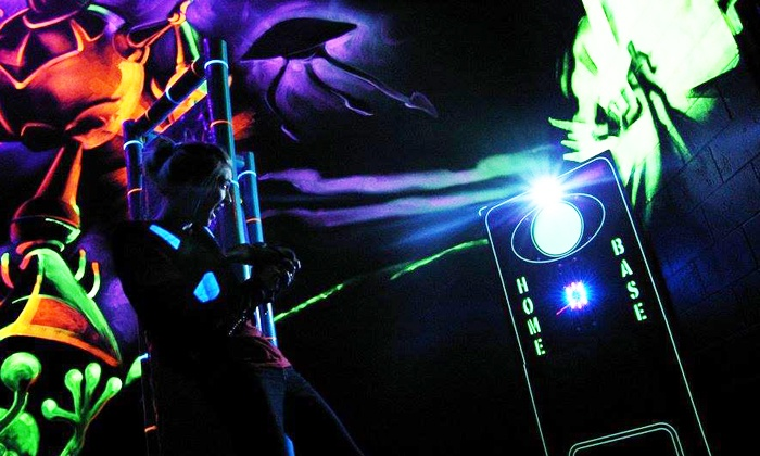 Play Abby - Highway 11: Laser Tag for Two or Four, or Laser Tag Flex Card Good for 10 Games at Play Abby (Up to 54% Off)