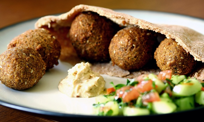 King Falafel - Bay Ridge & Fort Hamilton: $13 for $20 Worth of Mediterranean Cuisine Valid for Dine-In, Delivery, or Takeout at King Falafel