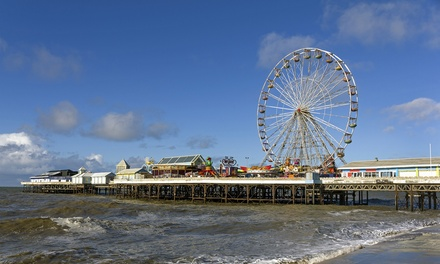 Blackpool: 2 to 4 Nights for Two with Breakfast and Tea or Coffee on Arrival at The Lanes Hotel Blackpool