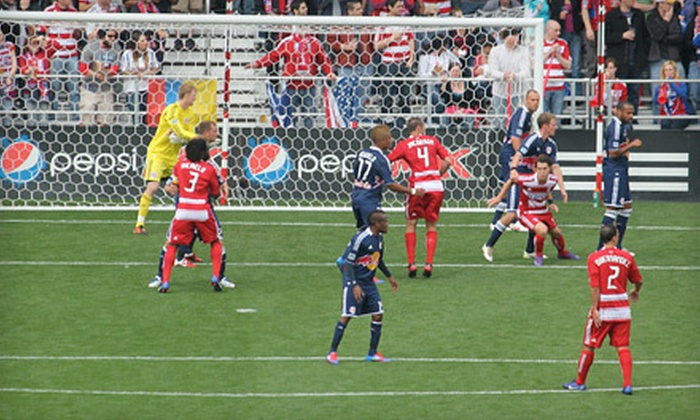 FC Dallas - Frisco: One Ticket to FC Dallas Game at FC Dallas Stadium in Frisco (Up to $60.69 Value). Three Dates Available.