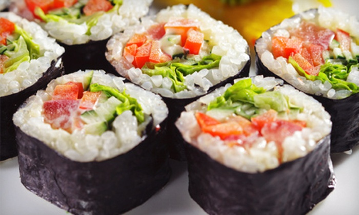 J's Teriyaki and Pub - Northeast Salem,Badger Corner: $12 for $25 Worth of Sushi and Asian Fare at J's Teriyaki and Pub