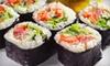 52% Off Sushi and Asian Fare at J's Teriyaki and Pub