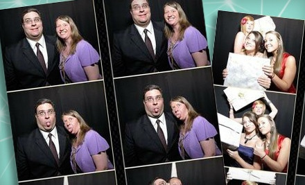 Four-hour photo-booth rental  - motion pictures photobooths in
