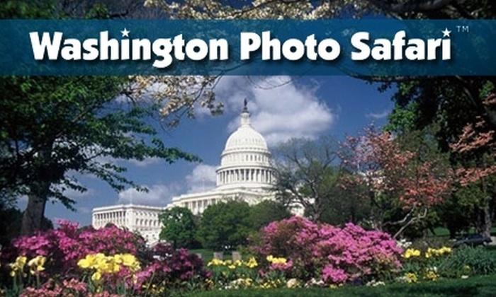 Washington Photo Safari - Washington Mall: $38 for One Travel Photography Workshop from Washington Photo Safari (Up to $84 Value)