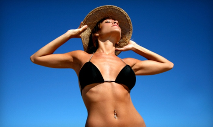 Heat Waves Tanning and Salon - Jacksonville Beach: $35 for $75 Worth of Tanning, Spa, and Hair Services at Heat Waves Tanning and Salon